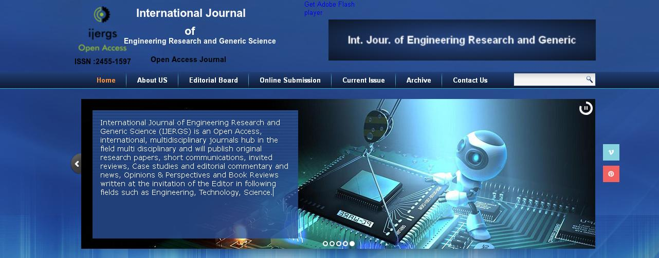 international journal of engineering research and Since 2012, the international journal of research (ijr) is one of the leading online only international journal for presenting novel and fundamental advances in the fields of computing, engineering, information.